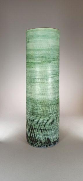 TAPIS VERT (Atelier du)    Grand vase rouleau...