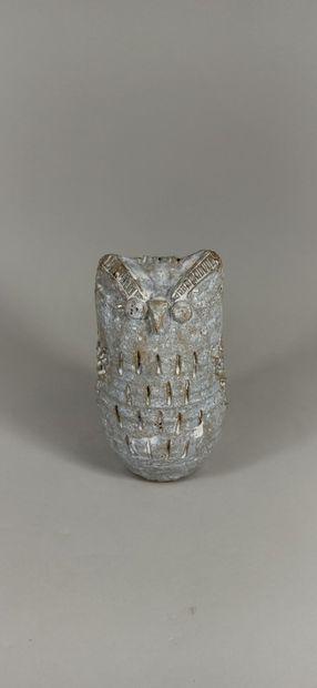 LES ARGONAUTES (atelier)  Sculpture de hibou....