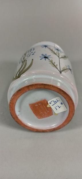 CAPRON Roger (1922 - 2006)    Ensemble de 5 pots à épices et 1 pichet assorti. Terre...