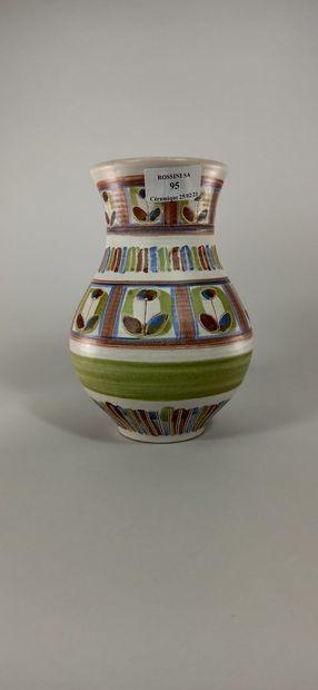 GUILLOT Dominique (XXe siècle)  Petit vase...
