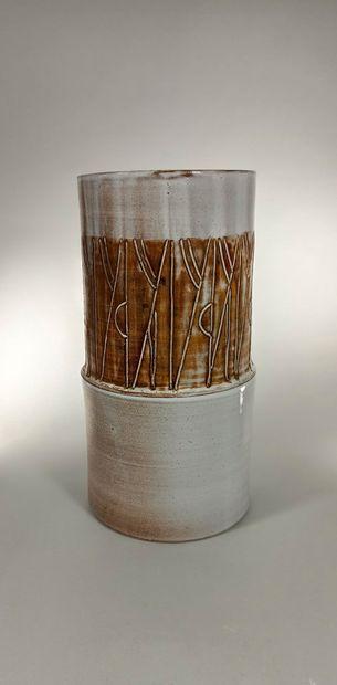 ARGONONAUTES (Les) Vase monté à la main...