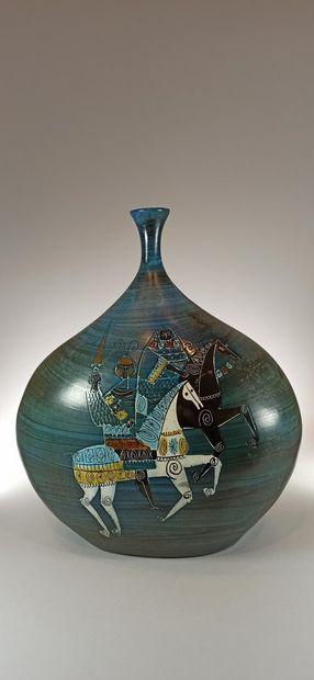LESPINASSE Jean de (1896 -1979)  Grand vase...