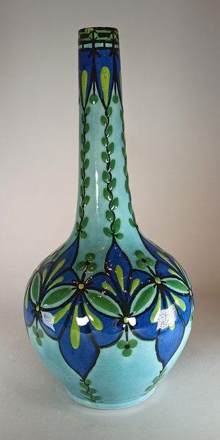 MILET Paul (1870-1930) - SEVRES  Vase en...