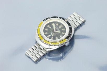 SQUALE  Montre bracelet de plongée en acier....
