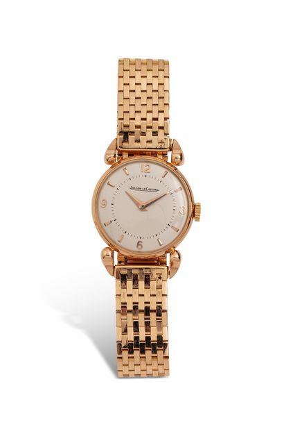 ANONYME  Montre bracelet en or rose 18k (750)....