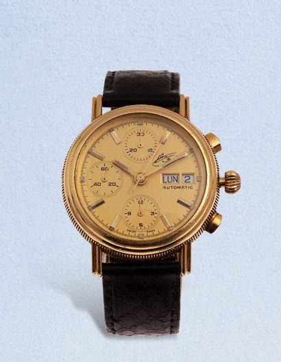 SERIE LIMITÉE  No. 36/40  Chronographe bracelet...
