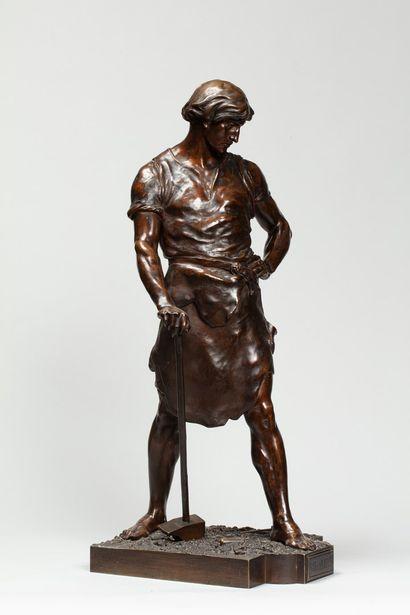 PICAULT Émile Louis, 1833-1915  Pax et labor...