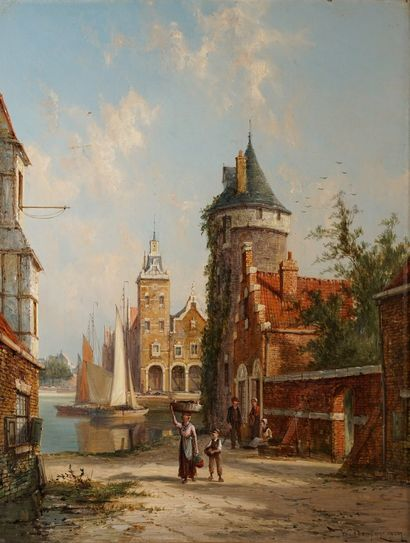 DOMMERSENN William Raymond, 1850-1927  Meetkeerke,...