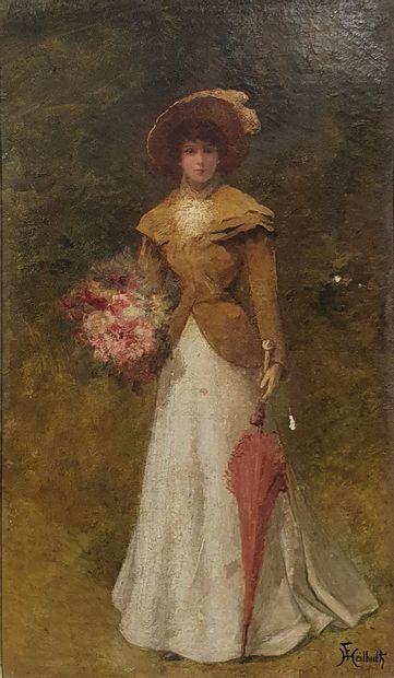 HEILBUTH Ferdinand, 1826-1889  Jeune femme...
