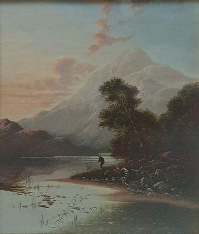BODINGTON Edwin Henry, 1836-1905  Paysages...