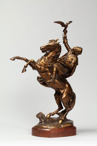 DUBOIS Ernest Henri, 1863-1931  Fauconnier...