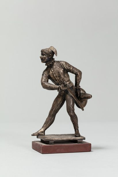 HINGRE Louis Théophile, 1832-1911  Arlequin...