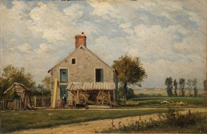 KUWASSEG Charles Euphrasie, 1833-1904  Paysanne...