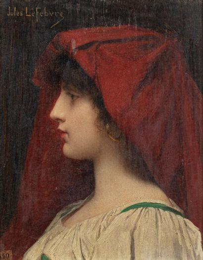 LEFEBVRE Jules, 1836-1911  Grazziella, 30...