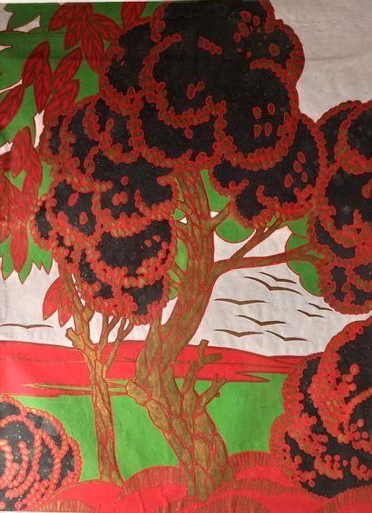 Jean ROUPPERT (1887-1979)  Paysage dans le...