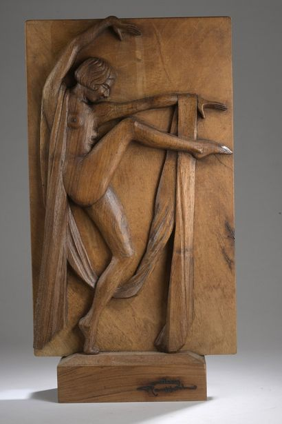 Jean ROUPPERT (1887-1979)  Danseuse au voile...