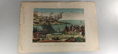 IMAGERIES  L'Ile de Ste Hélène lieu d'exil du Gal Buonaparte de Napoleon - Prise...