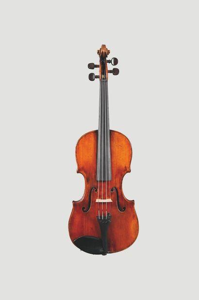 Joli violon allemand, XIXe siècle.  Fond...