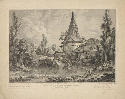 Jean Jacques de BOISSIEU (1736 - 1810) et...