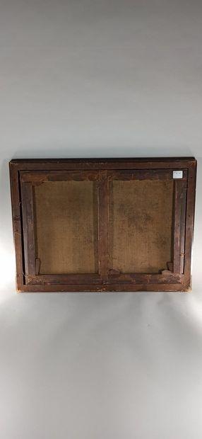 ROSA Salvator (Ecole de)  1615 - 1675  Le Torrent  Huile sur toile (Rentoilage)...
