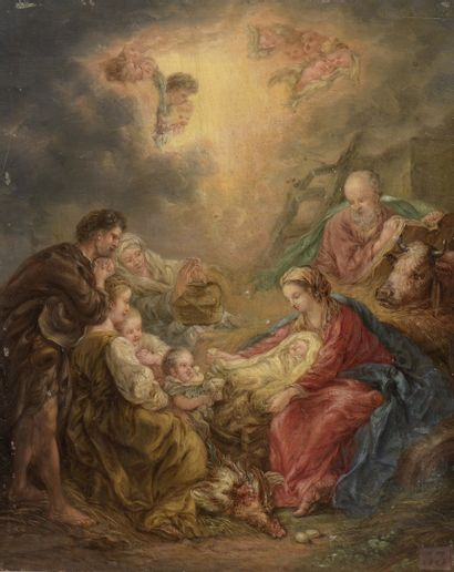 BOUCHER François (Suite de)  1703 - 1770...