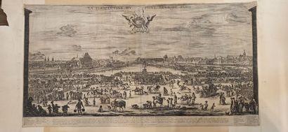 Stefano DELLA BELLA (1610 - 1664)  Le Pont...