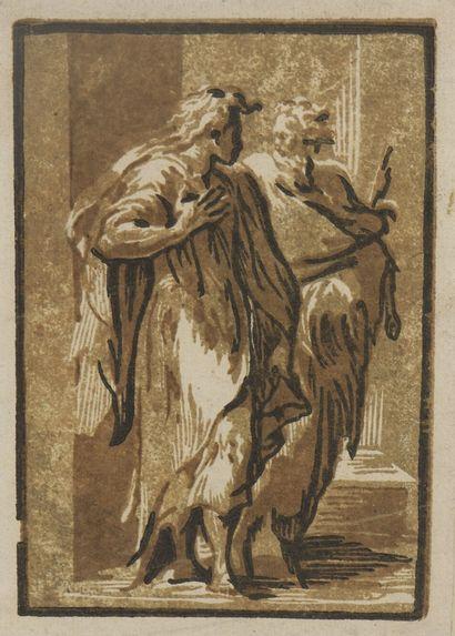 Ugo CARPI DA (c.1450/80 - 1532)  Saint Pierre...