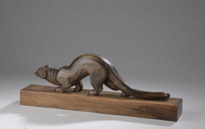 Jean ROUPPERT (1887-1979)  Mangouste  Sculpture...