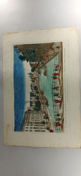 IMAGERIES  Le Canal que l'on appelle Kleveniers qui regarde vers la maison des Poids...