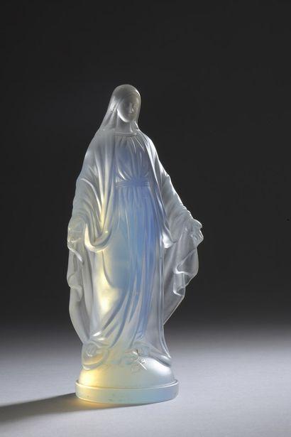ETLING  Sainte Marie.  Épreuve en cristal...