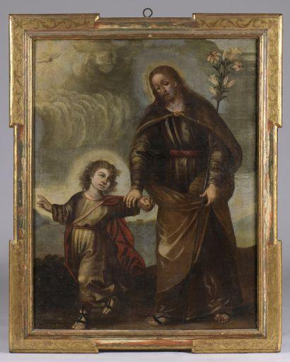 ECOLE ESPAGNOLE  Dans le Goût du XVIIe siècle...