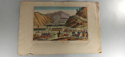 IMAGERIES  Bataille d'Espinosa - Bataille de Somo-Sierra - Bataille de Lutzen -...