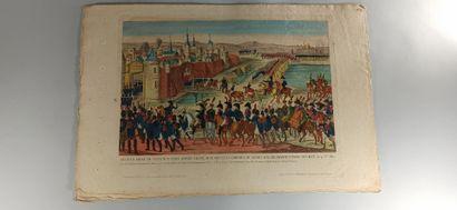 IMAGERIES  Bataille d'Enzerdorff - Bataille et prise de Smolensk - Combat de Wigneensdorf...