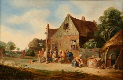 BLOOT Pieter de (Attribué à)  Rotterdam 1601...