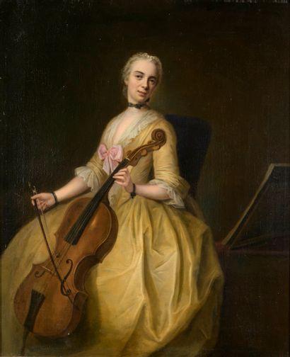 DENNER Balthasar  Hambourg 1685 - Rostock...