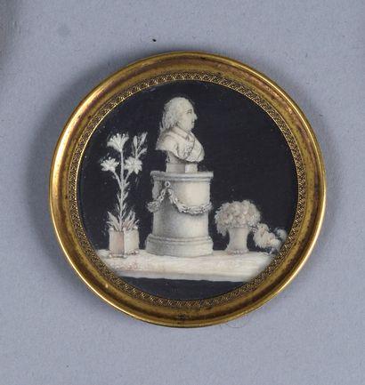 ECOLE FRANCAISE Vers 1795  Portrait présumé...