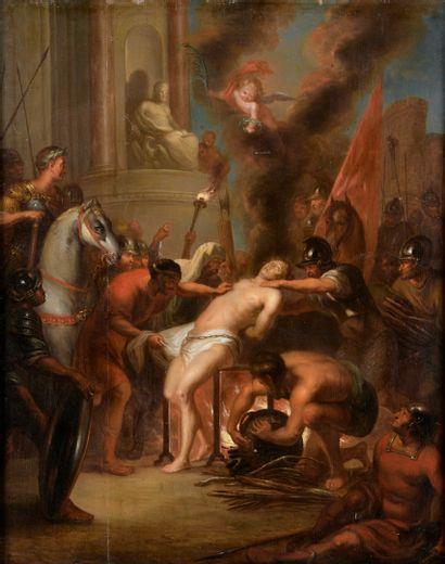 ECOLE FLAMANDE Vers 1700  D'après Pierre...