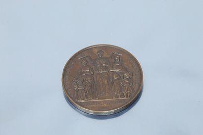 FAROCHON Jean-Baptiste 1812-1871  Médaille...