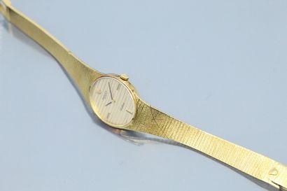 ROLEX  Montre bracelet de dame, boîtier ovale...