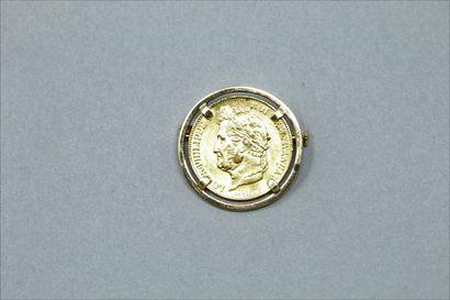 Pièce en or de 20 francs Louis Philippe (1839...