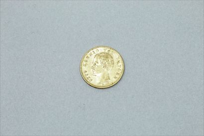 Pièce en or de 20 mark - Otto (1895 D)  TTB....