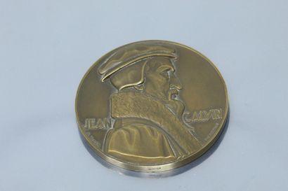 [ Protestantisme ] Deux médailles en bronze...