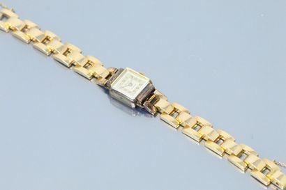 LACORDA  Montre bracelet de dame en or jaune...