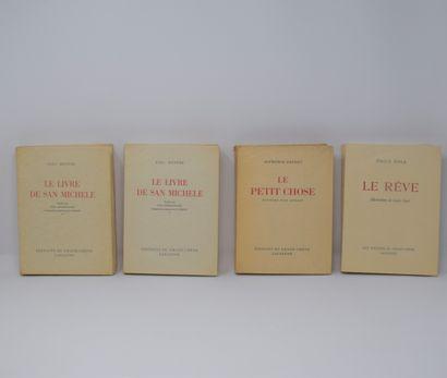 Ensemble de trois ouvrages des éd° DU GRAND...