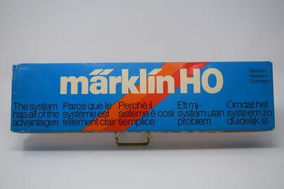MARKLIN « HO » : locomotive à pare fumée,...