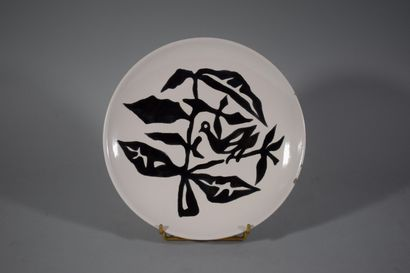 LURCAT Jean (1892-1966) d'ap.  Assiette circulaire...