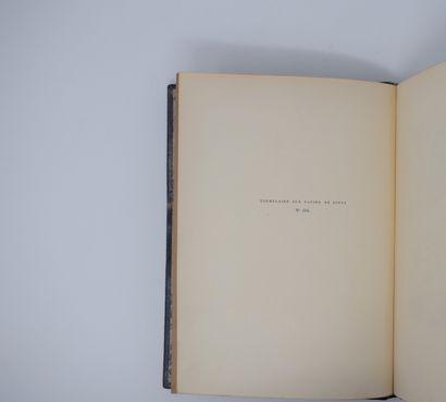 DORGELÈS (Roland). LE REVEIL DES MORTS. Paris, éd° Mornay, 1924. In-4°, demi-chagrin...