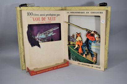 LA BIBLIOTHEQUE EN COULEURS  par PUBLINEL,...