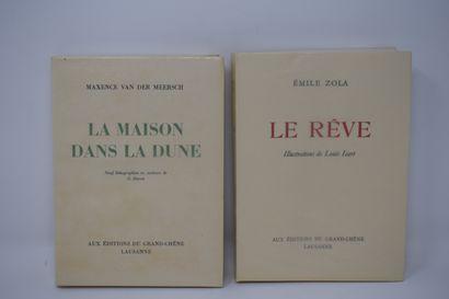Ensemble de deux ouvrages des éd° DU GRAND...