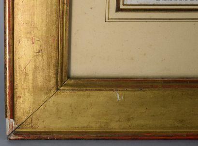 """Ensemble de deux gravures :  - """" L'épouse indiscrète """", d'ap. Pierre Antoine Baudouin,..."""